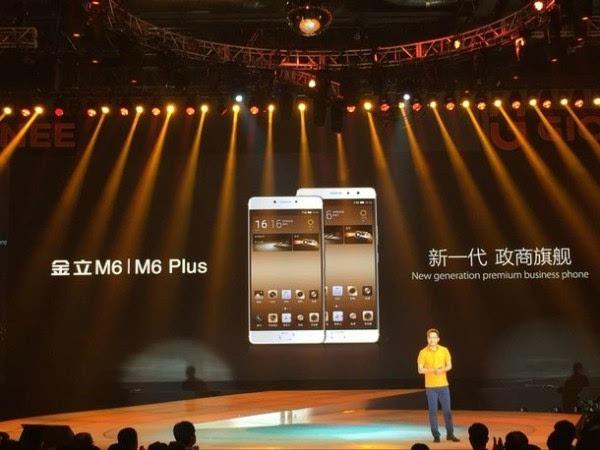 售价2699元起:内置安全芯片 金立M6/M6 Plus正式发布的照片 - 2