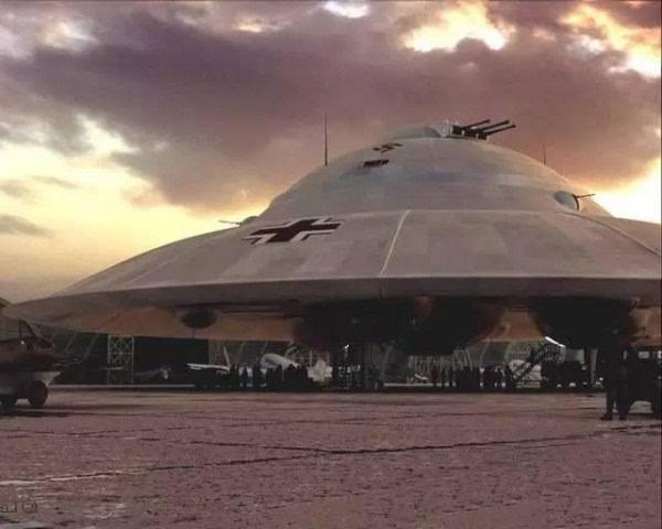 二战时的德国震惊世界:曾无限接近UFO飞碟技术
