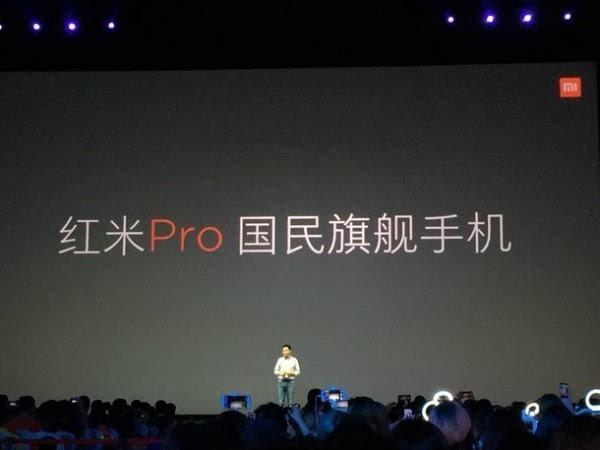 售价1499元起:双摄旗舰 红米Pro正式发布的照片 - 1