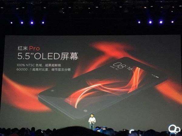 售价1499元起:双摄旗舰 红米Pro正式发布的照片 - 5