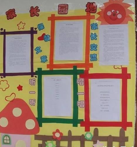 幼儿园教学计划栏_幼儿园家园共育栏粘贴内容-