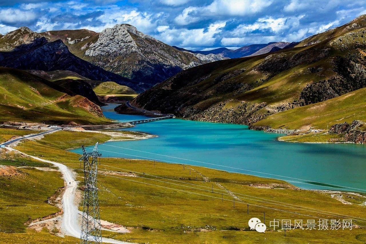 去西藏路上拍的風景