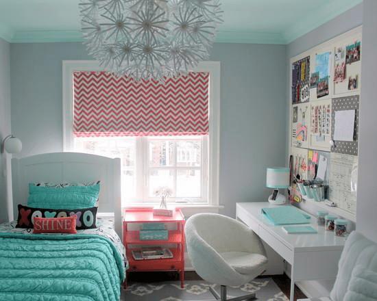 卧室放两张床效果图