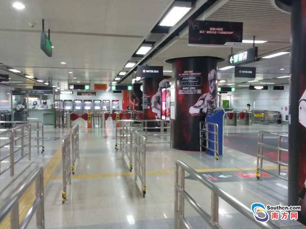 e11公交车_通过地铁已无法到达深圳北站和机场 所有航班车次取消至12点