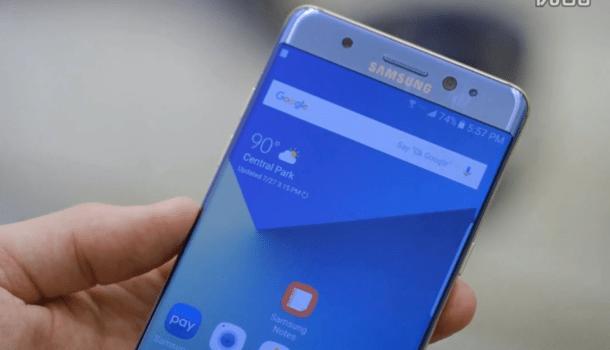 大屏机皇首秀:三星Galaxy Note7上手视频的照片 - 1