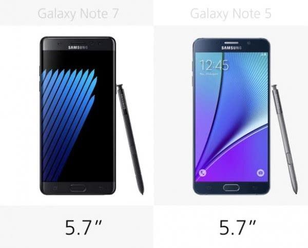 是否值得升级?Galaxy Note 5/Note 7规格参数对比的照片 - 6