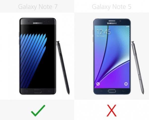 是否值得升级?Galaxy Note 5/Note 7规格参数对比的照片 - 9