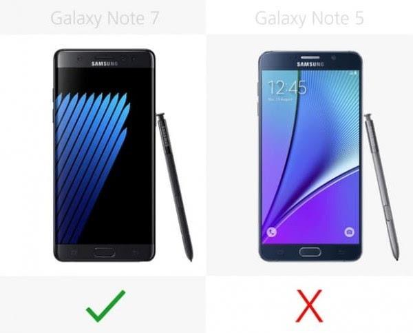 是否值得升级?Galaxy Note 5/Note 7规格参数对比的照片 - 12