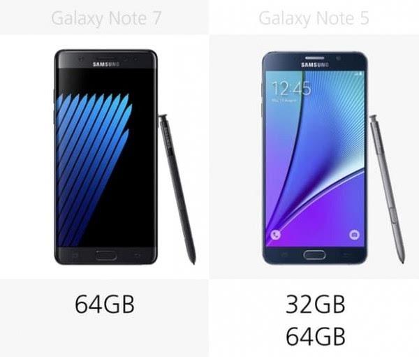是否值得升级?Galaxy Note 5/Note 7规格参数对比的照片 - 18