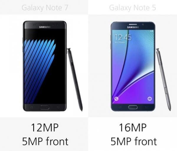 是否值得升级?Galaxy Note 5/Note 7规格参数对比的照片 - 24