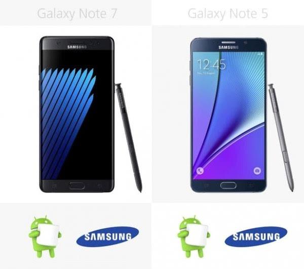 是否值得升级?Galaxy Note 5/Note 7规格参数对比的照片 - 28