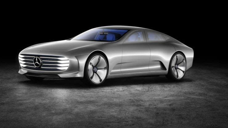 奔驰将推出四款电动车 直接对垒特斯拉的照片