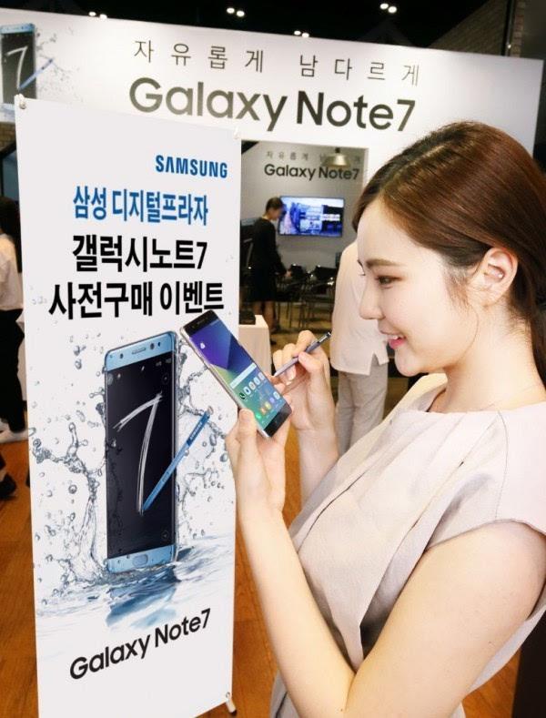 三星Note 7新使命:让iPhone 7难以招架的照片 - 1