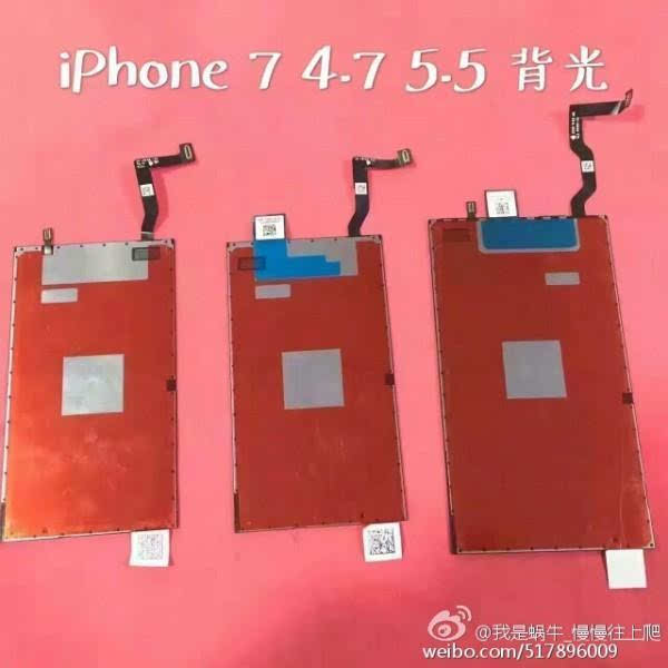 iPhone 7 Plus屏幕曝光:分辨率飙升的照片 - 2