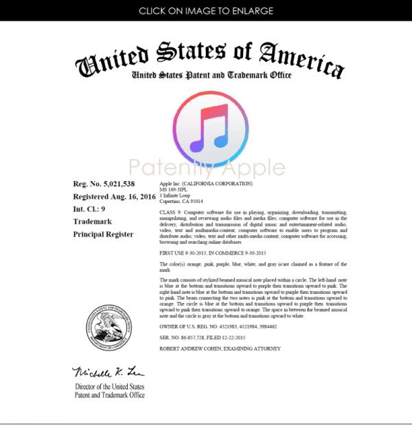 苹果获 Apple Music 与 Finder 图标设计专利的照片 - 2