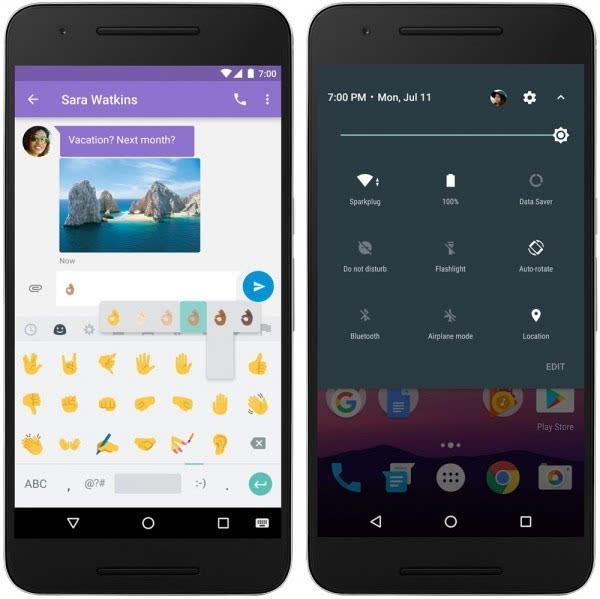 Android牛轧糖上线 暂时只有Nexus用户可下载的照片 - 2