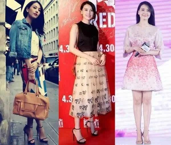 世界超一线女明星名单_宝宝老婆马蓉奢侈品泛滥,而anglebaby等一线女星却一双鞋都穿多年!