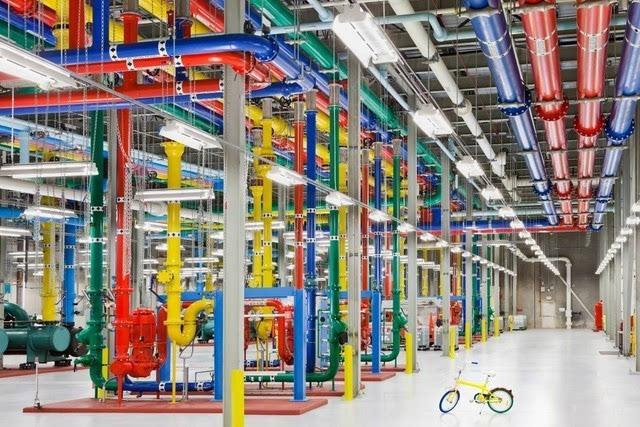 叹为观止 揭秘谷歌神秘数据中心图赏的照片 - 6