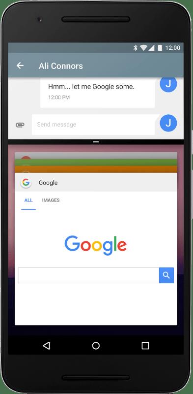 支持系统级分屏功能:Android 7.0系统更新日志一览的照片 - 2