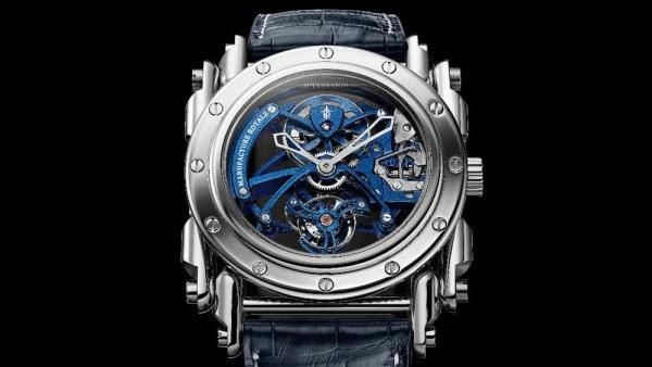 哲学与蒸汽朋克之美:Androgyne Royale Steel腕表系列的照片 - 1