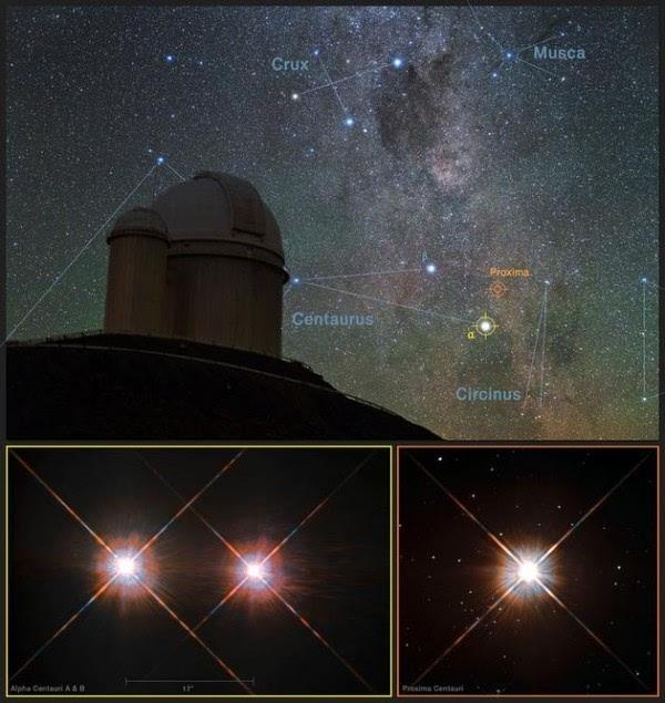 另一个地球:距离地球最近恒星周围发现系外行星地表或有水的照片 - 2