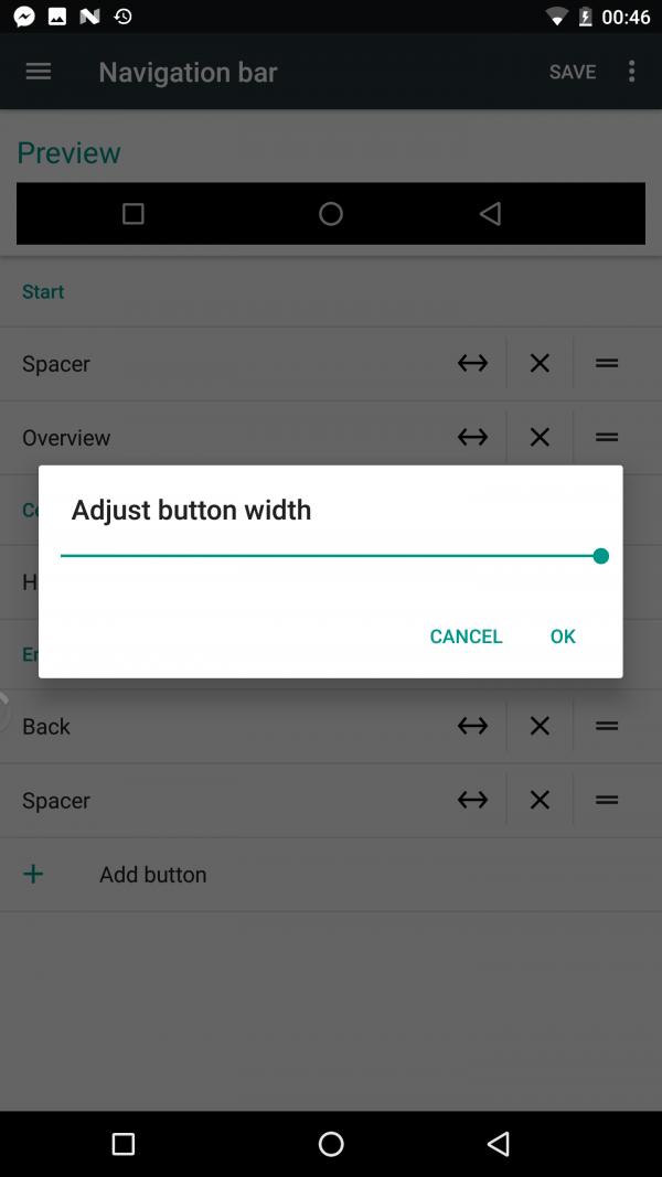 隐藏在Android 7.0中的彩蛋:高度自由的导航栏的照片 - 10