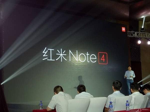 售价899元:小米正式发布红米Note 4的照片 - 2
