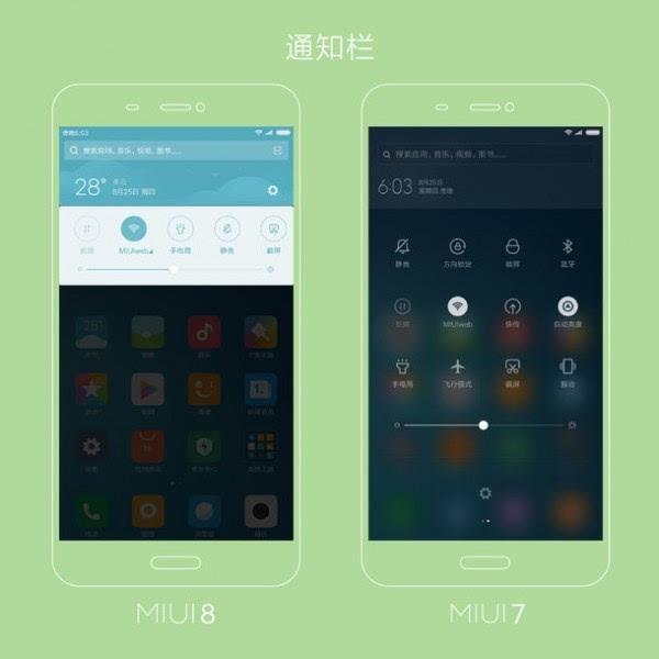 万花筒式全新设计 小米给出MIUI 7&MIUI 8设计对比图的照片 - 2