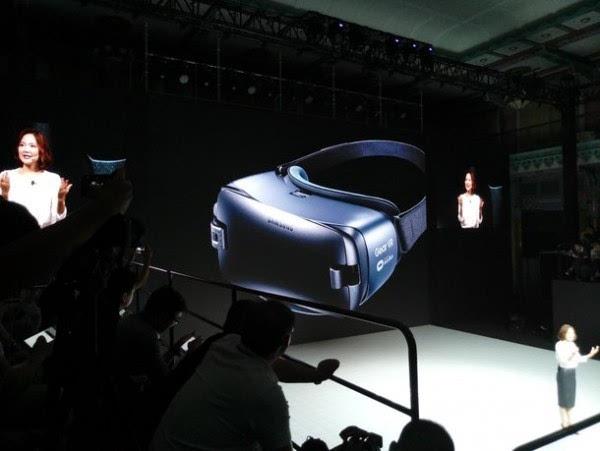 充满科技感的产物:三星发布新一代Gear VR设备的照片 - 2