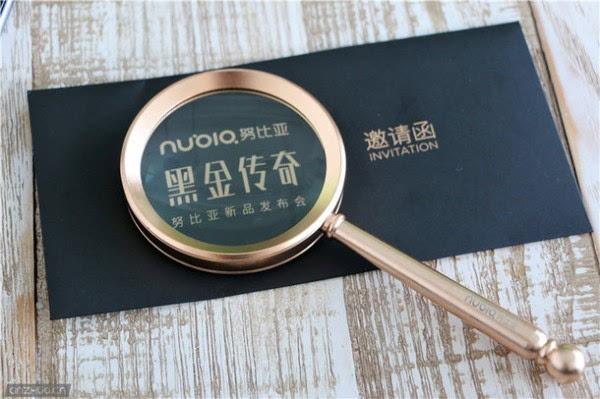 """迷之""""放大镜"""":努比亚9月1日黑金传奇发布会邀请函亮相的照片 - 6"""
