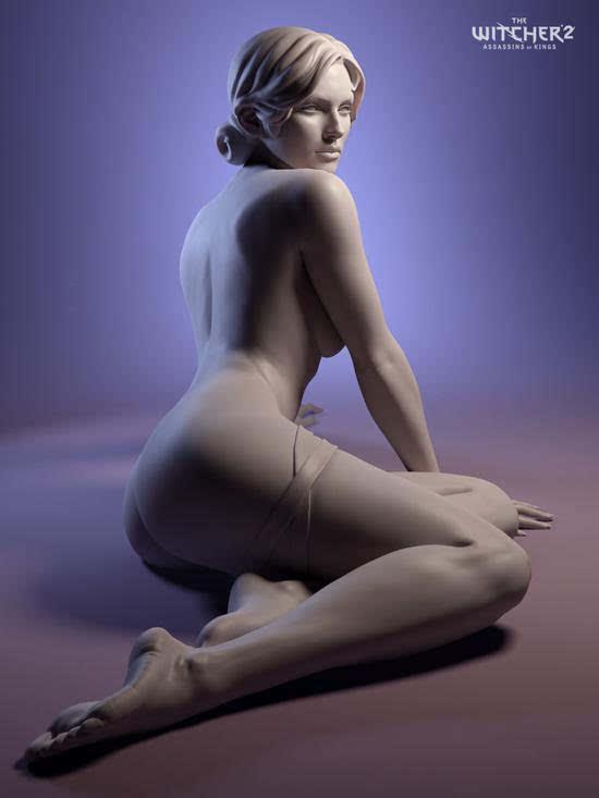年度游戏《巫师3》原画公开:女主美艳的照片 - 6
