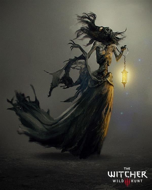 年度游戏《巫师3》原画公开:女主美艳的照片 - 9