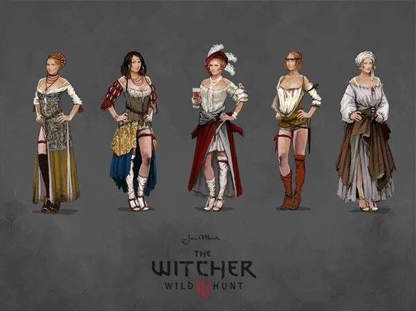 年度游戏《巫师3》原画公开:女主美艳的照片 - 10