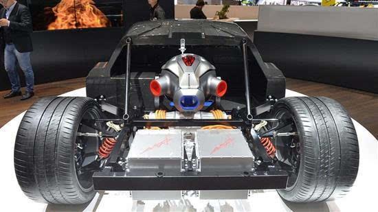 千匹马力燃气轮机 中国黑科技超跑续航2000公里的照片 - 2