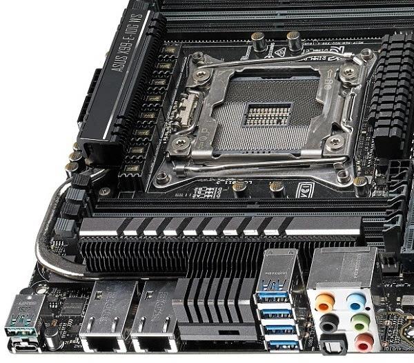 华硕更新X99-E WS主板:支持双万兆以太网连接 售650美元的照片 - 2