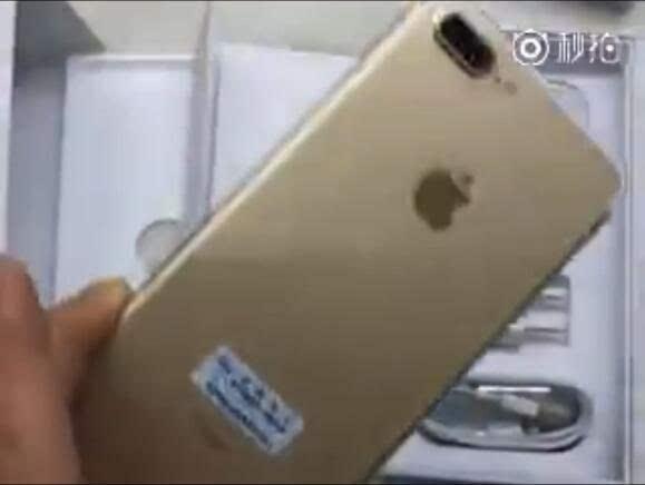 网友曝光iPhone 7 Plus开机过程 AirPods首曝的照片 - 2