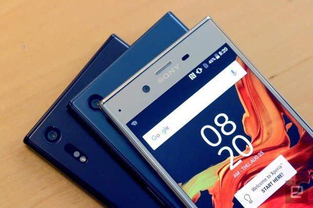 索尼正式发布Xperia XZ智能手机的照片 - 15