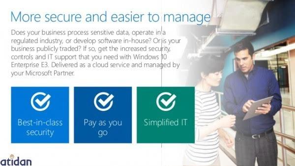 微软发布面向企业的Windows 10订阅服务 每人每月7美元的照片 - 4