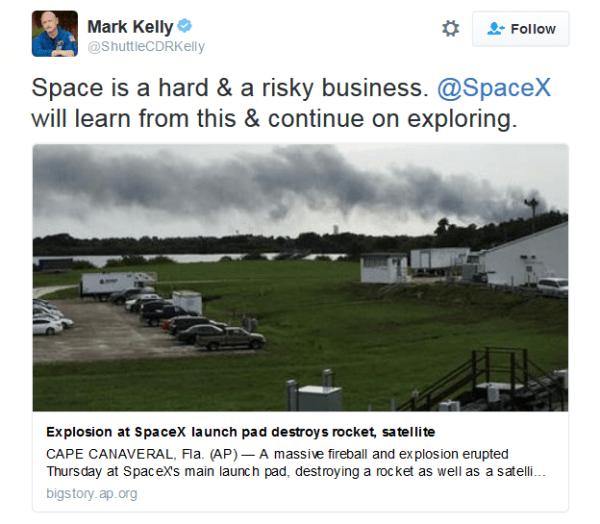 """SpaceX""""猎鹰9号""""爆炸完整视频公布的照片 - 11"""