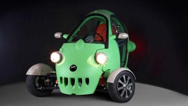 """来自东欧的""""大眼睛""""三轮电动车将登陆美国市场的照片 - 1"""