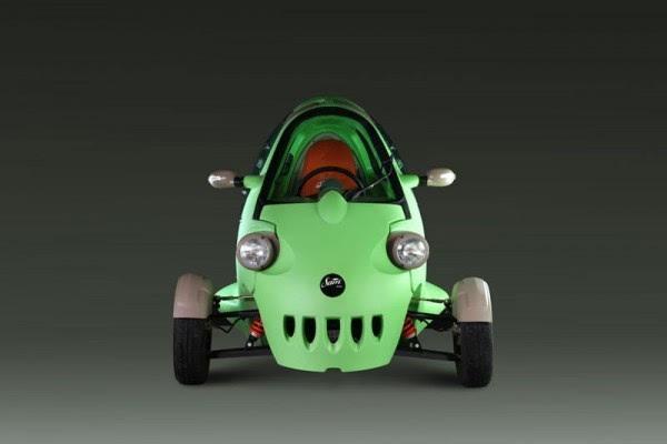 """来自东欧的""""大眼睛""""三轮电动车将登陆美国市场的照片 - 3"""