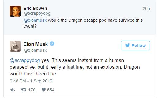 马斯克:SpaceX火箭并没有爆炸 而是发生火灾的照片 - 3