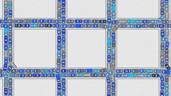 交通堵塞怎么办 交给无人驾驶去解决的照片 - 2