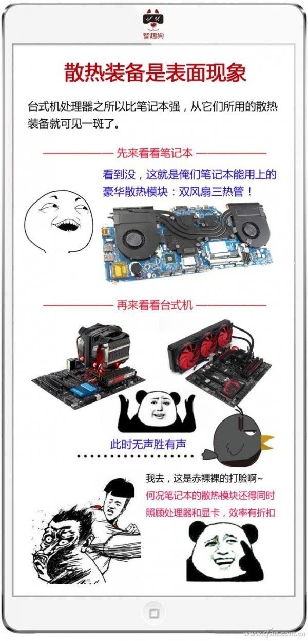台式机和笔记本处理器差多少?这5张图就是答案的照片 - 3