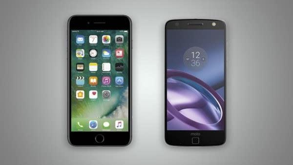 iPhone 7 Plus和Moto Z规格参数对比的照片 - 1