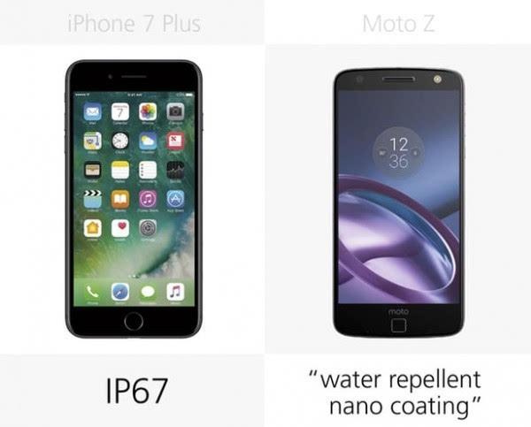 iPhone 7 Plus和Moto Z规格参数对比的照片 - 4