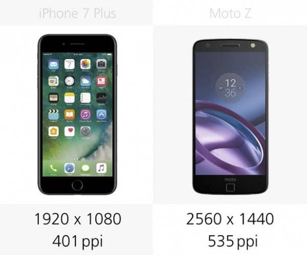 iPhone 7 Plus和Moto Z规格参数对比的照片 - 8