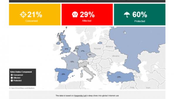 只有21%的网民关心上网安全的照片