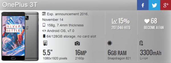 一加3T已无秘密:外观基本没变 配置全面升级的照片 - 3