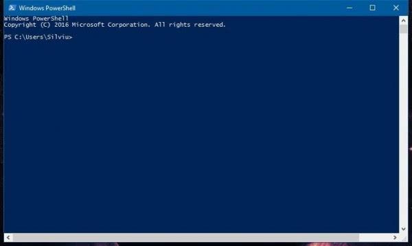 微软在新版Windows 10中用PowerShell替换命令提示符的照片